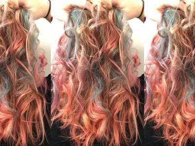 Turn Yourself Into a Rainbow Goddess For Less Than $10 With Wella's New Colors