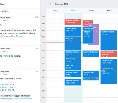 Woven, a startup founded by Facebook's former CIO, wants to supercharge calendars