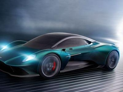 The Aston Martin Vanquish Vision Is The 720S Rival You Didn't Expect