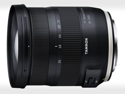 Tamron Unveils the 17-35mm f/2.8-4 for Canon and Nikon