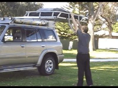 The Sliding Roof Rack Seem Like a Cool Idea That Isn't Catching On