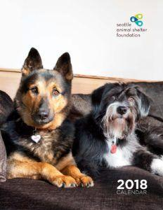 2018 Seattle Animal Shelter Foundation calendar available now