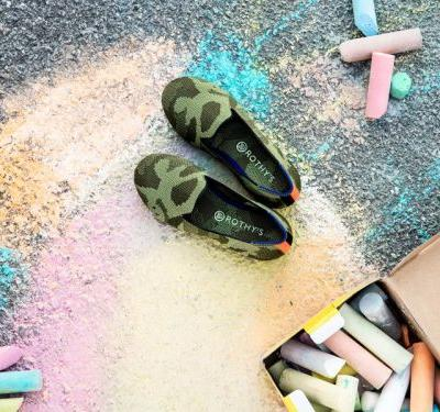 Wildly popular women's footwear startup Rothy's released a new line of machine washable shoes for girls - and they're made from recycled plastic bottles
