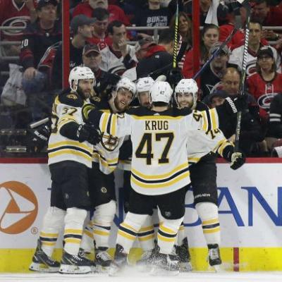 Bruins punch ticket to Stanley Cup Finals with sweep of Hurricanes