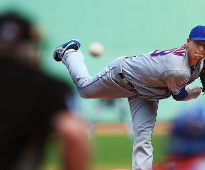 Jacob deGrom brought his tricky Cy Young case to Red Sox