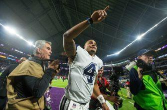 Cowboys barely escape Minnesota with a win, 17-15