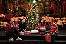 Matt Damon Hosts a Secret Santa Gift Exchange With Miley Cyrus & Mark Ronson on 'SNL': Watch