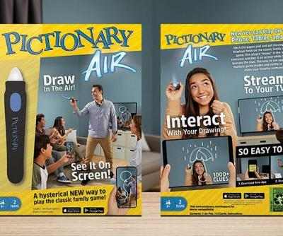 Pictionary Air adds a high-tech twist to the classic drawing game