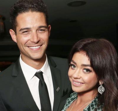 Sarah Hyland Just Got Engaged With a Jaw-Dropping Diamond Ring