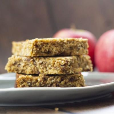Healthy Date and Apple Flapjacks