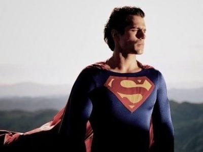 Henry Cavill Looks Amazing in Christopher Reeve's Old Superman Suit
