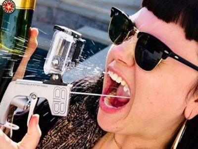 These Pricey Champagne Guns Will Make Your Summer a Blast
