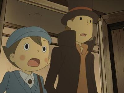Professor Layton and the Curious Village is now available on mobile devices