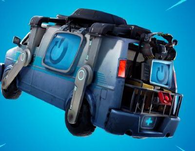 Fortnite's 8.30 update includes this way-out wacky van