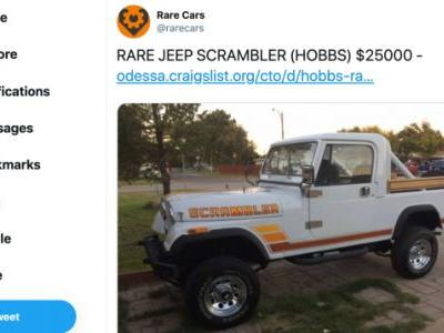 The Only Good Twitter Account Shows You The Rarest Cars On Craigslist