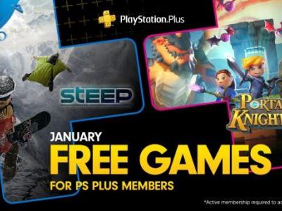 PlayStation Plus free games for January 2019: Steep, Portal Knights, and more