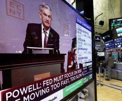 The Dow rallies more than 600 points in best session since March after Fed chairman speech