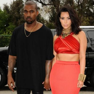 Kanye West Is Posting Photos of Iconic Couples as a Valentine's Day Gift to Kim Kardashian, I Guess
