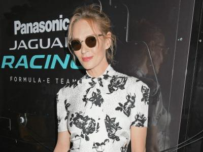 Uma Thurman Put a Chic Spin on Motorsport Attire