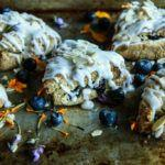 Blueberry Coconut Almond Scones- Vegan and Gluten-Free