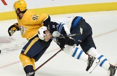 Predators' Johansen suspended 2 games for high-sticking Jets' Scheifele