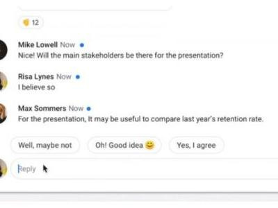 Google Brings Its Smart Reply Feature To Hangouts Chat