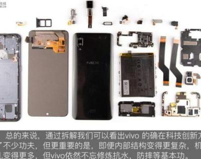 Vivo NEX teardown reveals many secrets