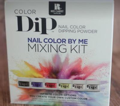 Red Carpet Nails Colour Dip Mixing Kit - Review