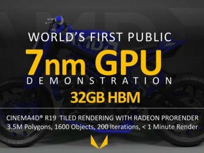 AMD Demos 7nm Vega GPU: Betting Big on Machine Learning for Radeon Instinct; Shipping This Year