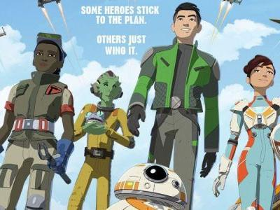 Star Wars: Resistance TV Show Gets Colorful Official Poster