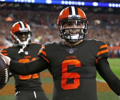 Baker Mayfield shows Cleveland and Darnold why he was No. 1 pick