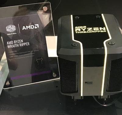 AMD Teams Up with Cooler Master for 'Wraith Ripper' Megacooler