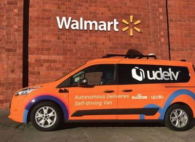 Robot delivery startup woos Walmart for trial run in Arizona