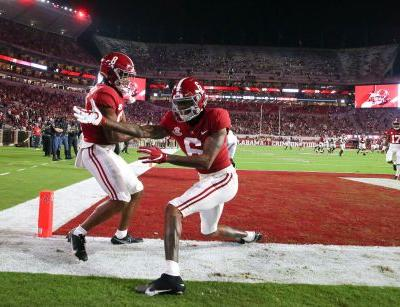 Alabama's offense makes Crimson Tide the team to beat in the SEC again