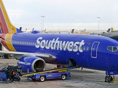Southwest has blamed an 'unprecedented' number of canceled flights on a mechanics union - and the stock is tanking