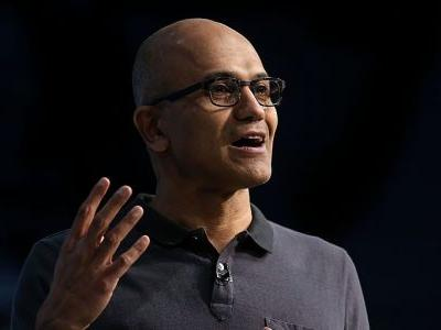 Microsoft CEO Satya Nadella describes two new kinds of software that are going to change everything for businesses