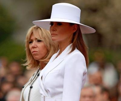 Armchair Fashionistas Had Takes on Melania's Giant Hat: Like 'She Has an Entire Birdcage' Under There