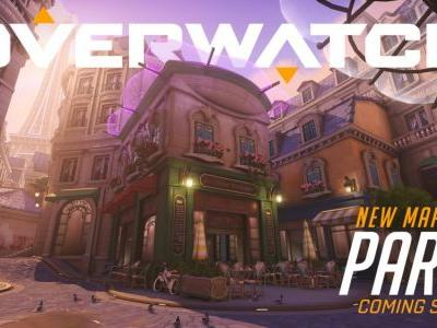 Overwatch Heads to Paris in New Map, Now Live on PTR