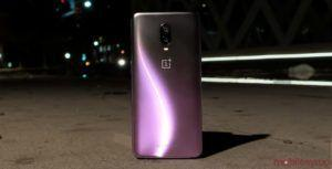 The OnePlus 6T in Thunder Purple is out now, and it's stunning