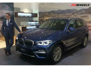 All-New BMW X3 Launched At Rs 4999 Lakh