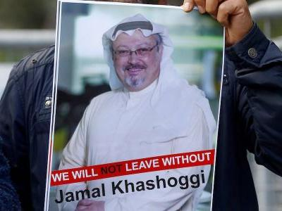 Saudi Arabia's foreign minister says global outrage over the killing of Jamal Khashoggi is 'fairly hysterical'