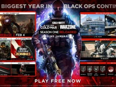 Call of Duty: Black Ops Cold War Season One Reloaded Roadmap, Firebase Z and Tombstone Soda Coming Next Month