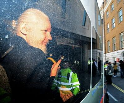 Assange sentenced to 50 weeks for bail-jumping