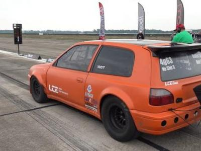 This 1500 HP Nissan Hatchback Looks Super Sketchy To Drive, But It's Damn Fast