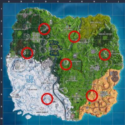 Fortnite Guide: Expedition Outpost Locations