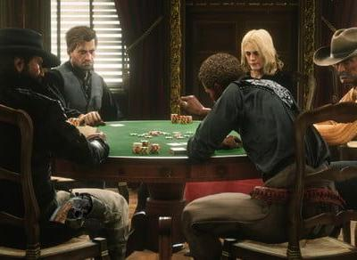 Red Dead Online poker missing in some parts of the world due to gambling laws