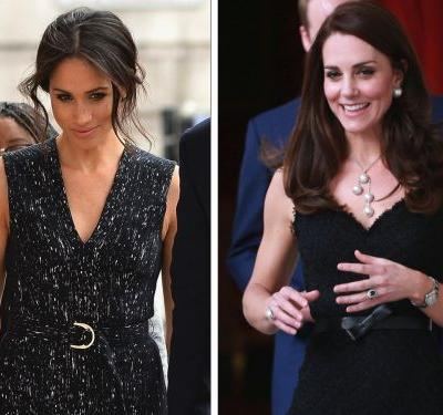 Meghan Markle quietly wore 3 of her best outfits so far - and they all swipe a page from Kate Middleton's style book