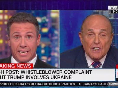 Twitter Erupts Over Guiliani's Bonkers CNN Interview With Cuomo: 'A Level of Pants-Sh*tting Panic Rarely Seen' On TV