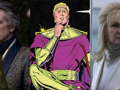 Exclusive: Jeremy Irons is Older Ozymandias in the 'Watchmen' TV Series, Jean Smart Joins the Cast as an FBI Agent