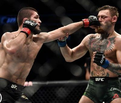 Melee ensues at UFC fight after Nurmagomedov chokes out McGregor